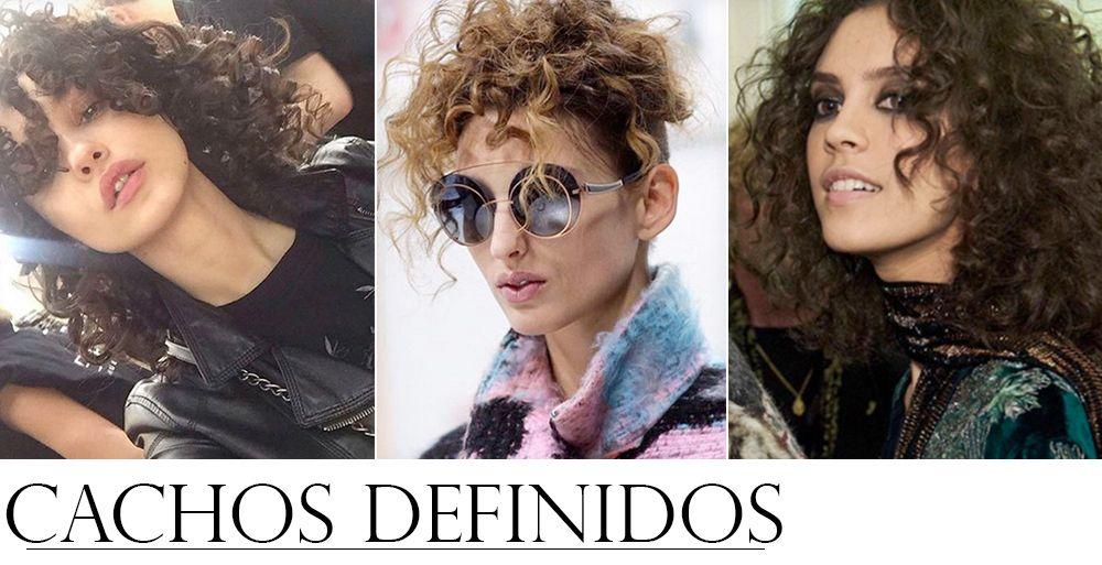 Tendencias de Beleza dos Desfiles Internacionais CACHOS DEFINIDOS