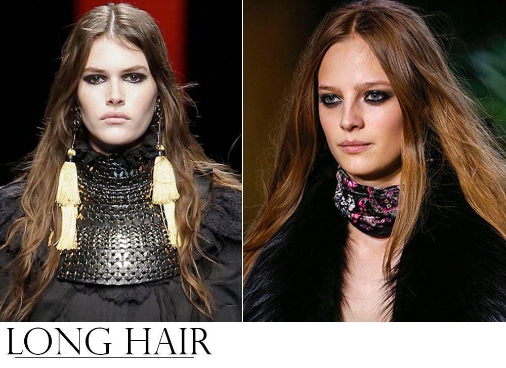 Tendencias de Beleza dos Desfiles Internacionais LONG HAIR