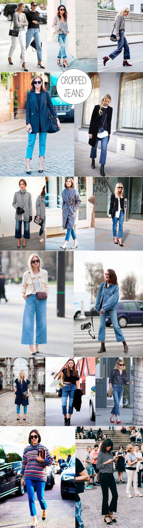 o novo comprimento do jeans cropped jeans blog da mariah