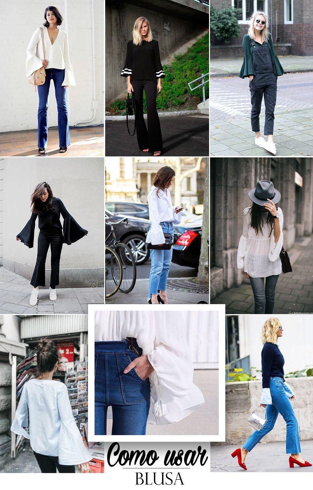 tendencia manga boca de sino blog da mariah como usar blusa