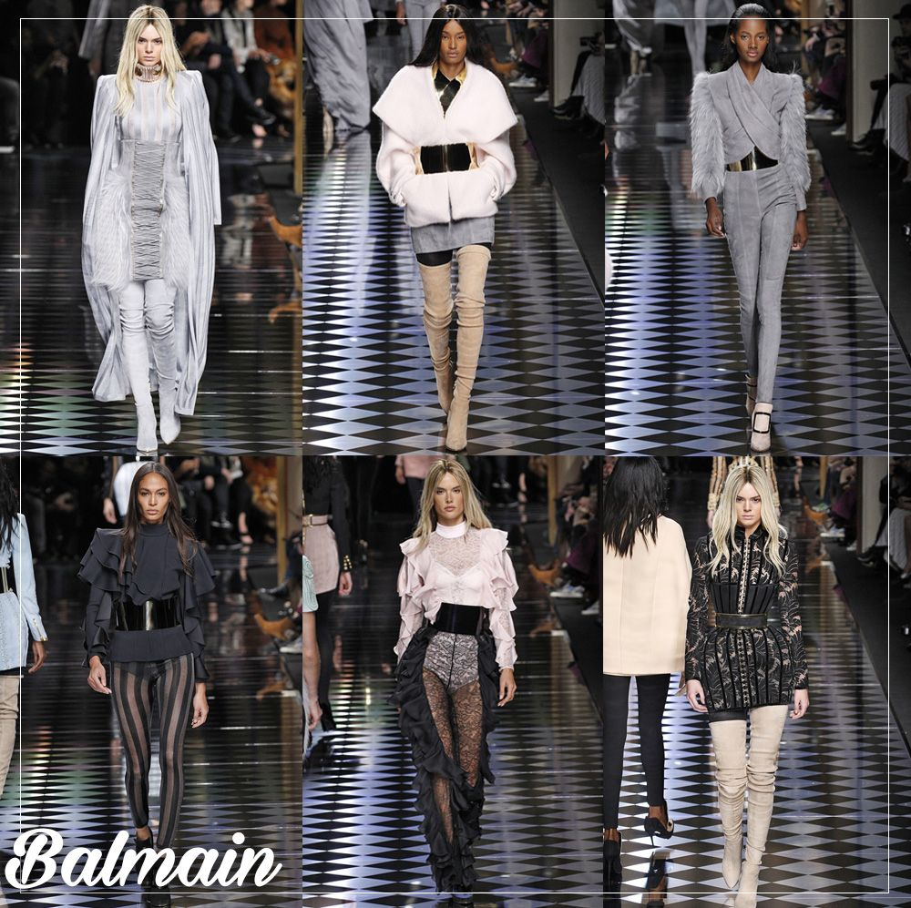 top 10 desfiles paris blog da mariah Balmain