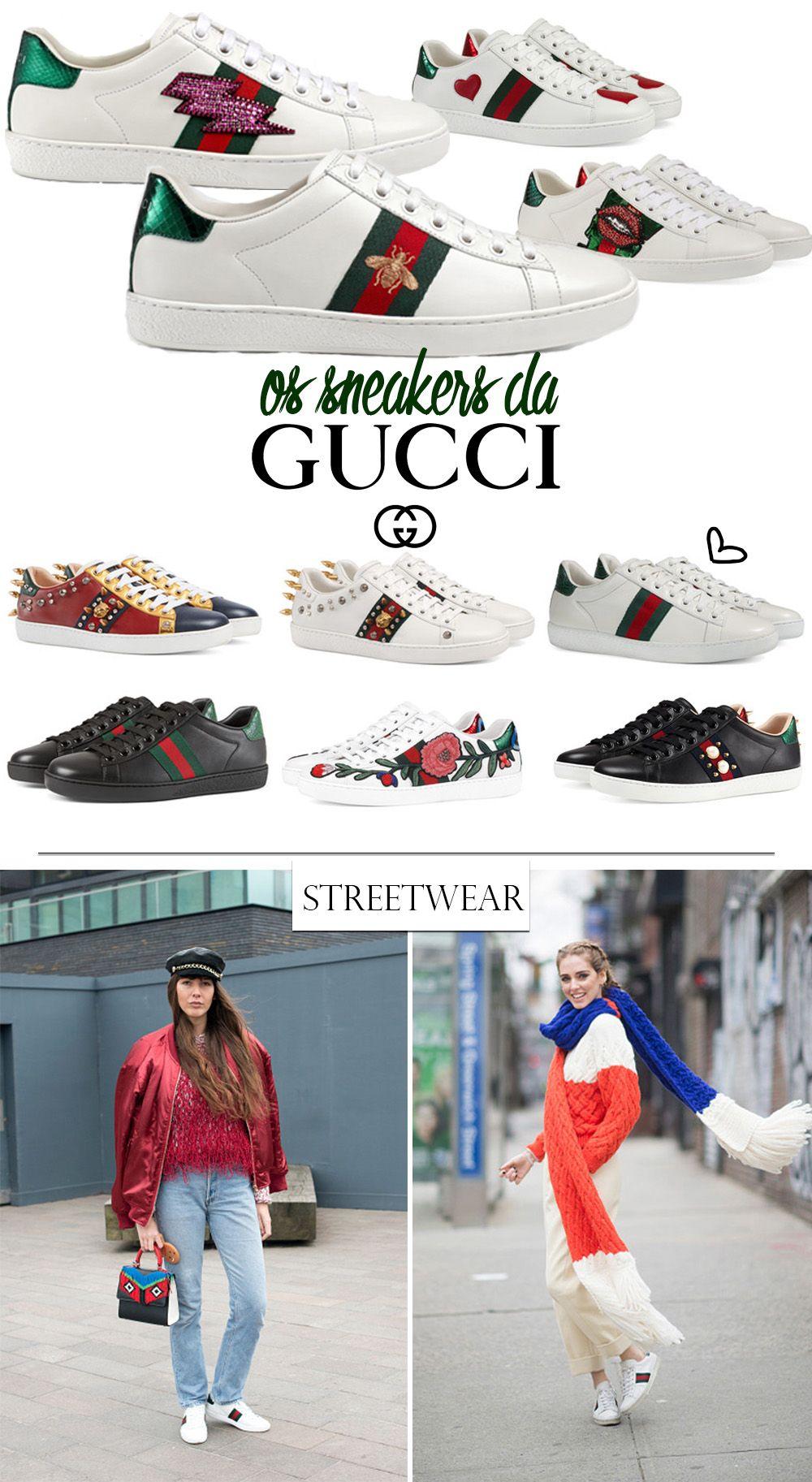 Tenis Desejo- Ace da Gucci blog da mariah