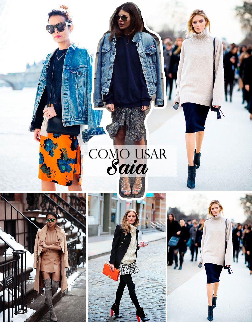 Looks de Inverno com Pecas de Verao blog da mariah saia