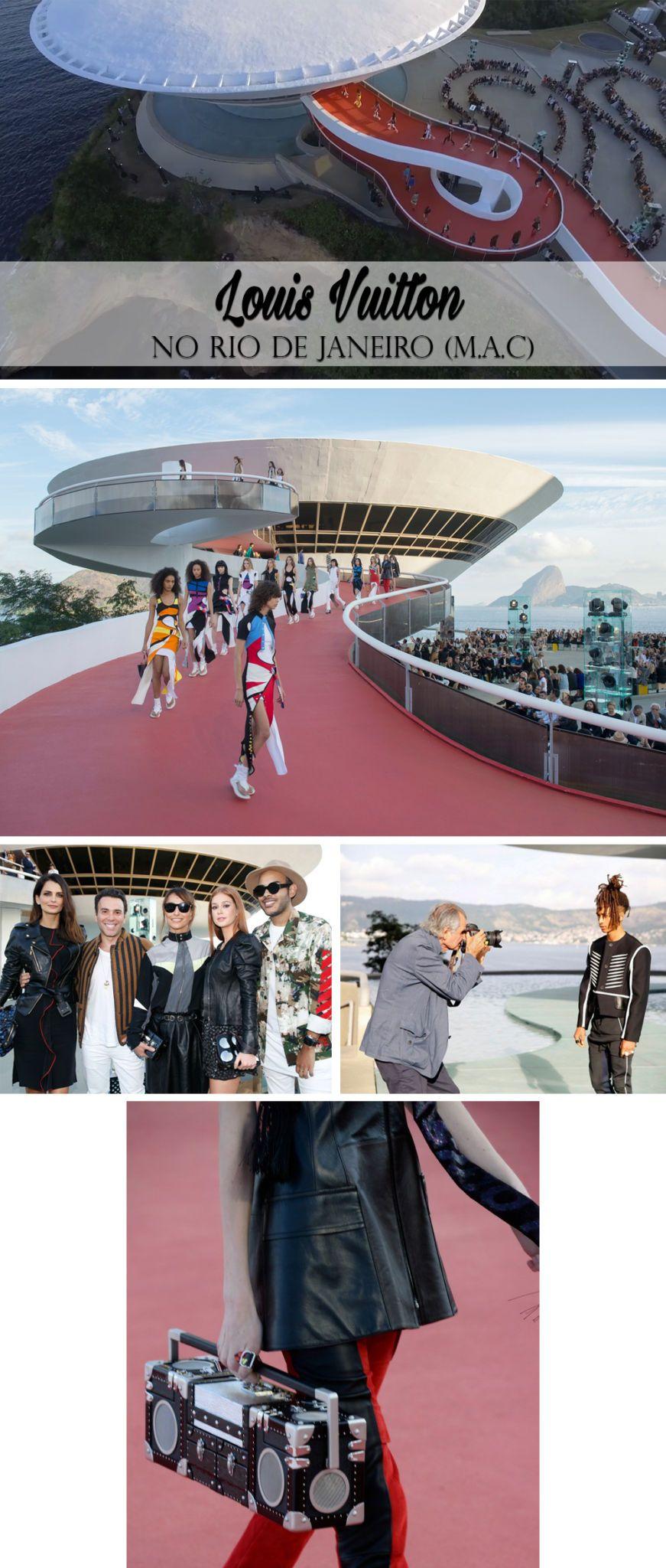 Os desfiles da Cruise Collection blog da mariah louis vuitton mac
