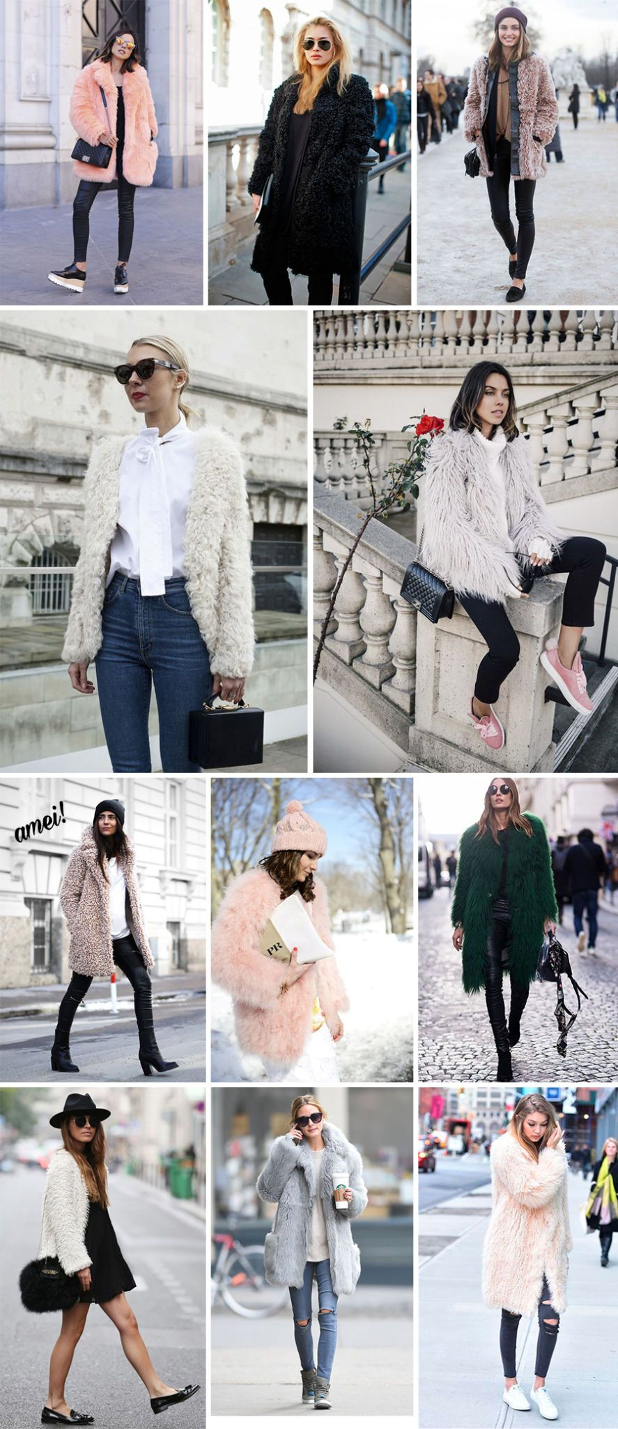 fluffy coat blog da mariah looks inspiracoes