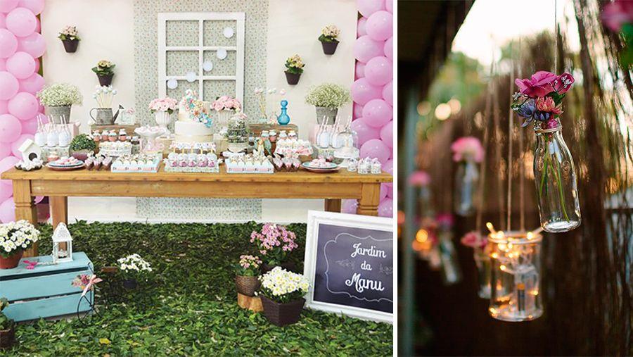 Temas diferentes de festa infantil jardins