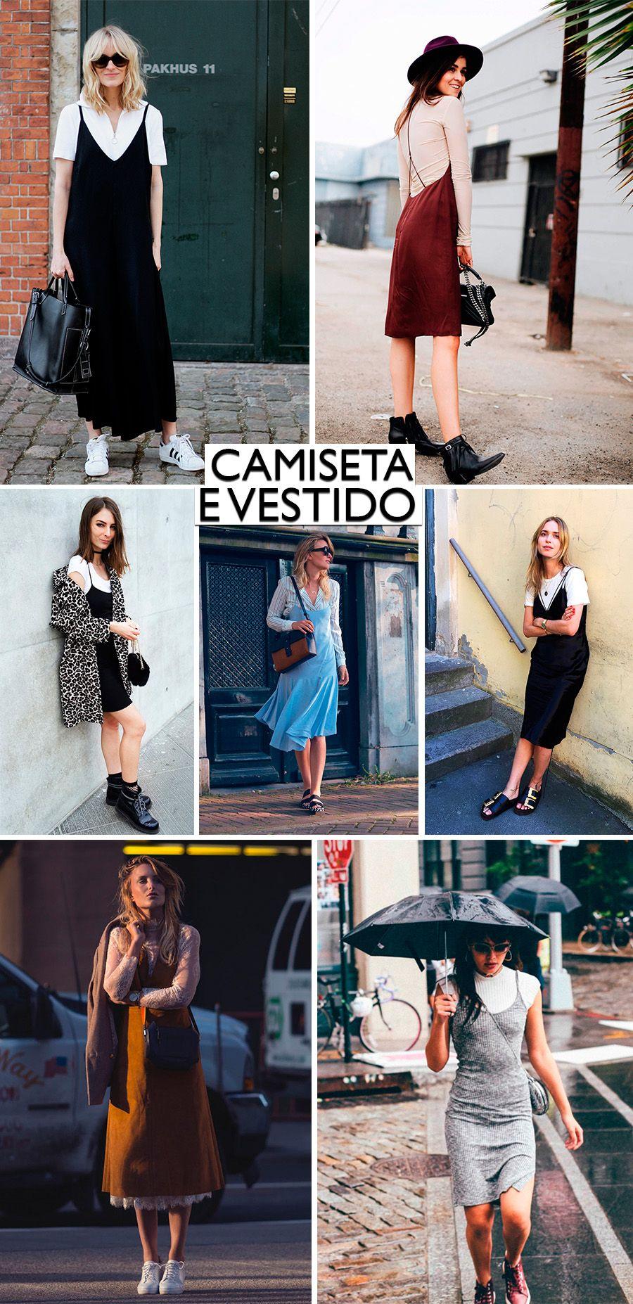 Truque de Estilo- Sobreposicoes Fashion blog da mariah CAMISETA E VESTIDO