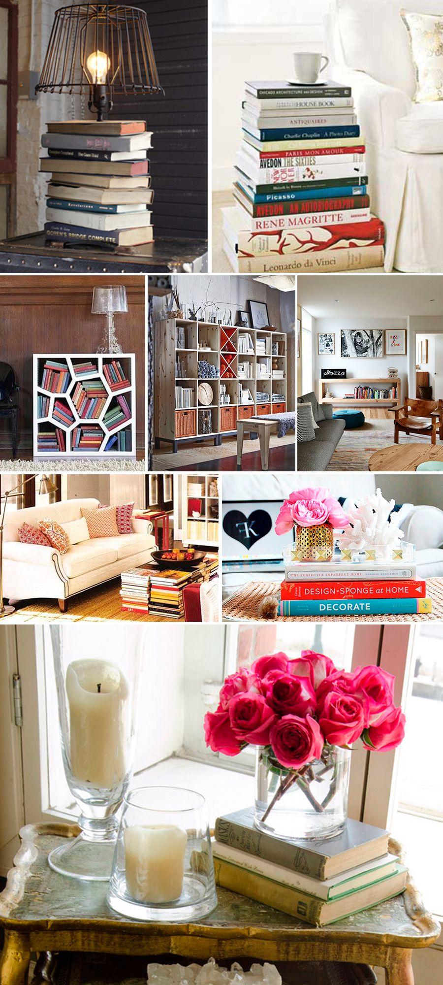 decoracao com livros blog da mariah3