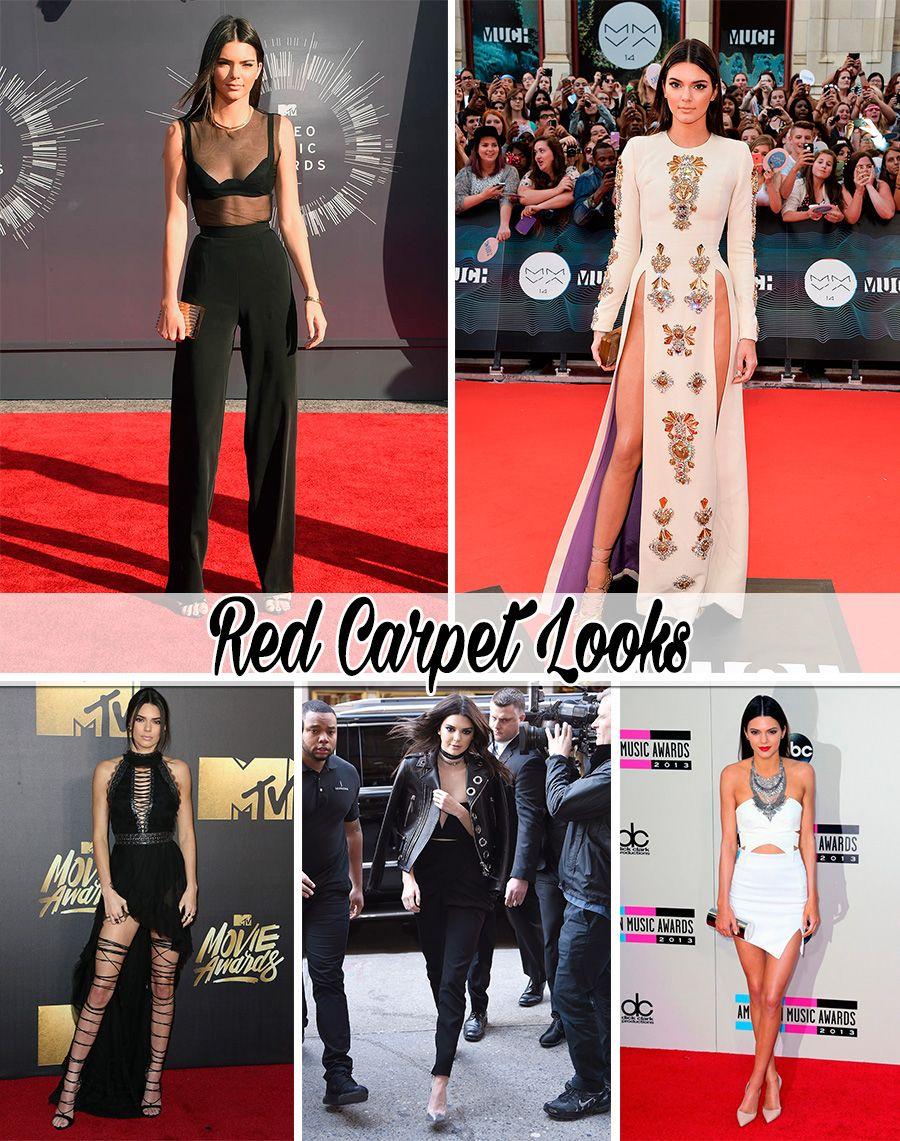 estilo de famosa kendall jenner blog da mariah red carpet look1