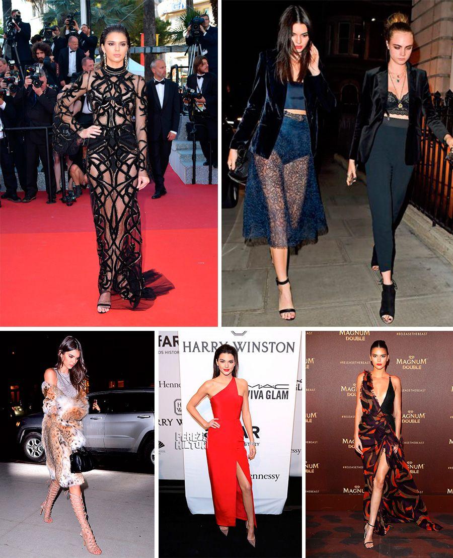 estilo de famosa kendall jenner blog da mariah red carpet look2